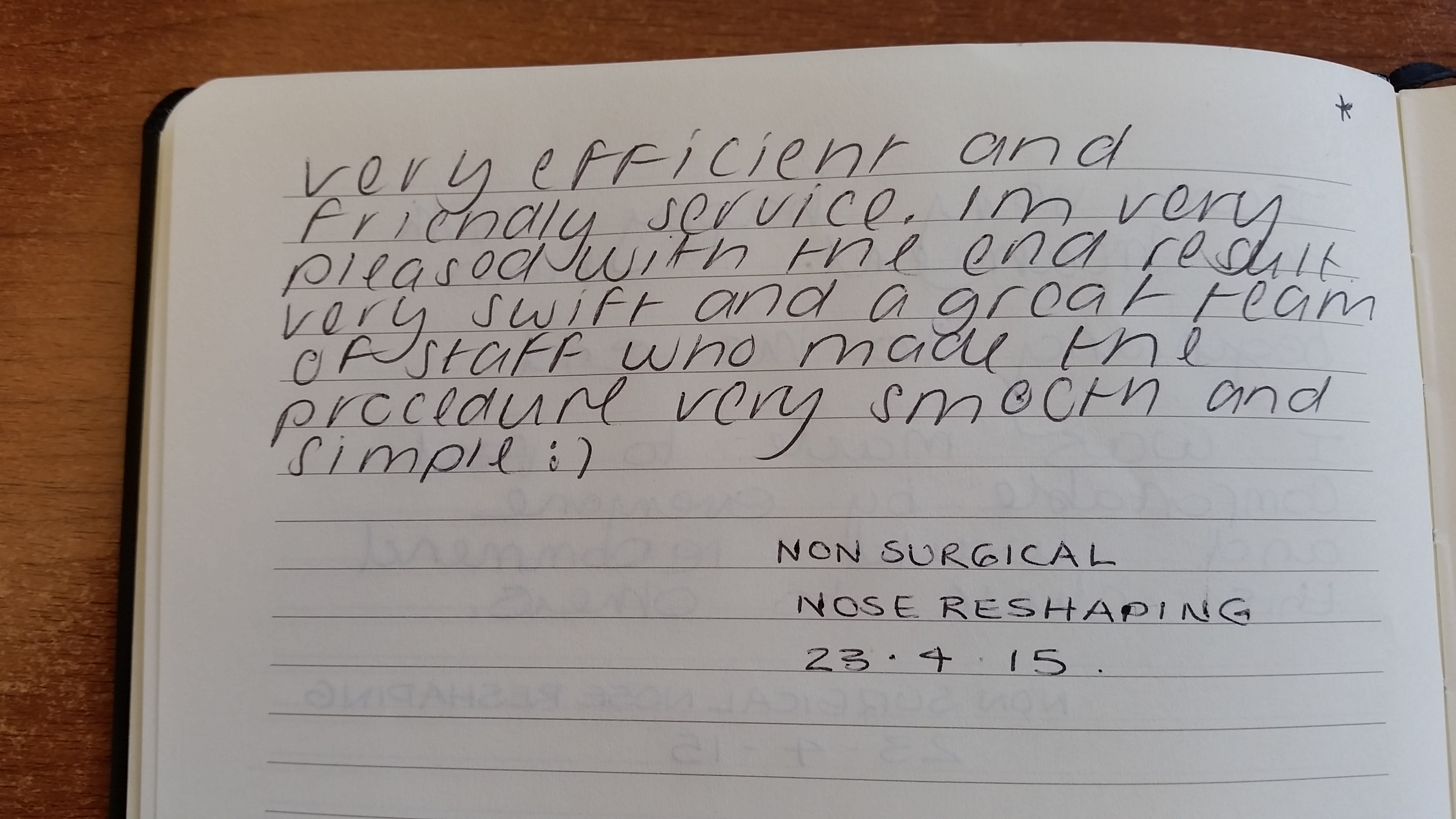 Non Surgical Nose Reshaping Patient Review - Smooth and Simple